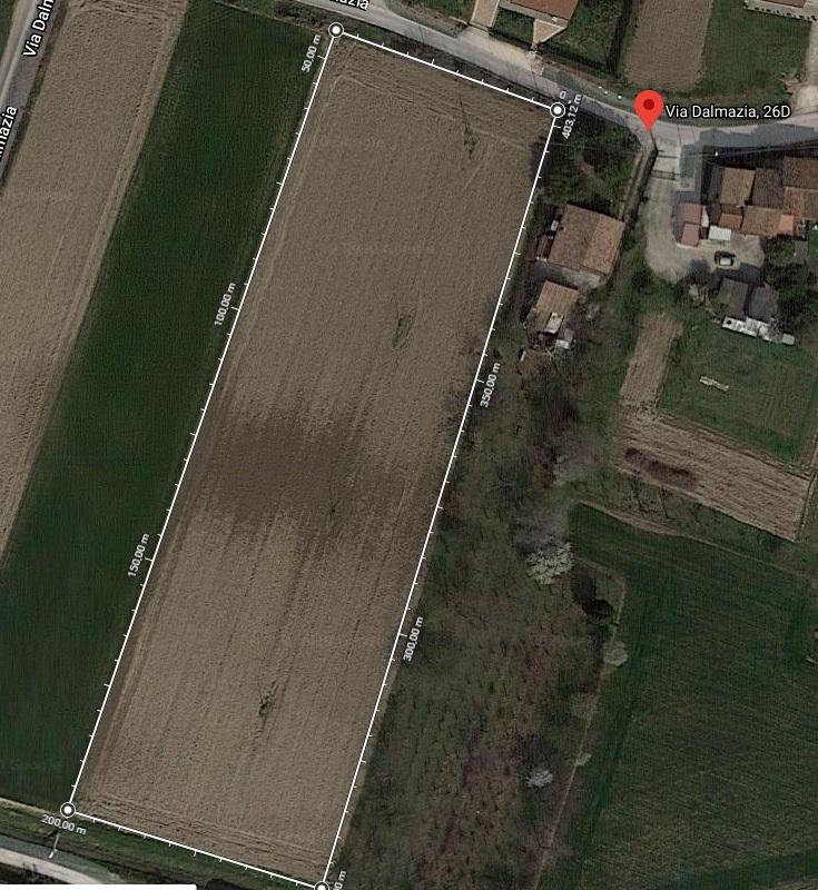 ALBIGNASEGO. Terreno edificabile per realizzare 700 cubi di abitazione.